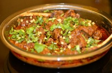 Lamb Handi (lamb on the bone)